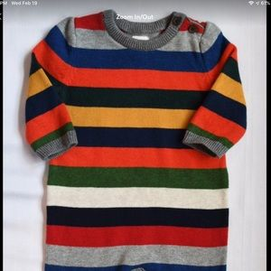 Baby Gap Striped Sweater outfit 3-6 M